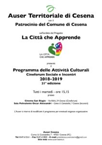 thumbnail of Programma Attività Culturali 2018-2019